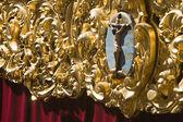 Altarpiece or cartela — Stock Photo