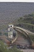 Spillway of the dam of the Yeguas, Cordoba — Stock Photo