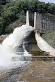 Spillway of the dam of the Yeguas, Cordoba province — Stock Photo