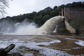 Spillway of the dam of the Yeguas — Foto Stock