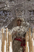 Nuestra Senora de la Paz, holy week in Seville — Stock Photo
