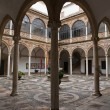 Cloister of the City hall or Palace of the Chains — Stok fotoğraf