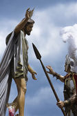Brotherhood of our father Jesus resurrected, Linares — Stock Photo