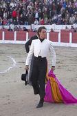 The Spanish Bullfighter Finito de Cordoba to the turning of honour — Stock Photo