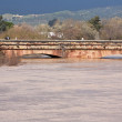 Stock Photo: Guadalquivir River passing through Andujar, Jaen province, Andalusia, Spain