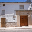 Stock Photo: Whitewashed house 16th century, Sabiote