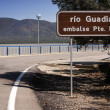 Expulsion of water after heavy rains in the reservoir of Puente Nuevo to river Guadiato, near Cordoba — ストック写真 #34546237