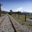 Bandoned railway line from Cordoba to Almorchon, municipality of Espiel — Stock Photo