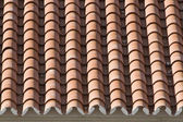 Closeup of old roof tiles — Stock Photo