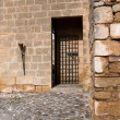 Side door to Citadel, La Mota castle.Alcala la Real — Stock Photo