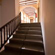 Stairs for access to exhibition halls in Municipal Museum of AlcallReal — Stock Photo #34566417
