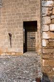 Side door to Citadel, La Mota castle.Alcala la Real — Stock Photo