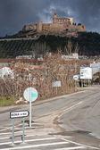 Main access to the city of Alcala la Real — Stock Photo