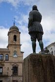 City hal in Arcipreste of Hita in Alcala la Real — Foto de Stock