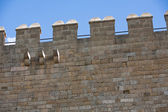 Battlements of The Keep — Stock Photo