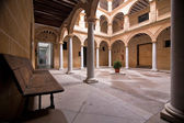 Courtyard in the Municipal Museum of Alcala la Real — Stock Photo