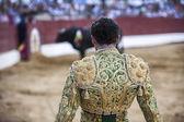 Banderillero in action, Spain — Stock Photo