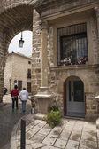 Gate of Ubeda or called Puerta de Ubeda, Baeza, Jaen province, A — Stock Photo
