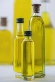 bottle of olive oil isolated on white — Stock Photo
