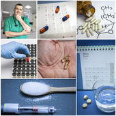 Concept of prevention of hyperglycemia — Stock Photo