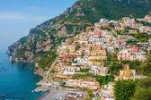 Positano city on Amalfi Coast — Stock Photo