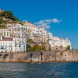 Unique Amalfi city — Stock Photo