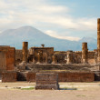 Ancient ruins of Pompei — Stock Photo