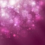 Kerstmis paarse achtergrond — Stockfoto