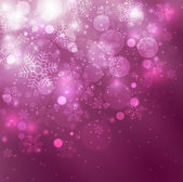 Christmas purple background — Stock Photo