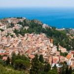 Taormina city — Stock Photo