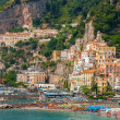 Amalfi city — Stock Photo