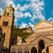 Cathedral of Amalfi — Stock Photo