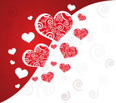 Vector valentine background — Stock Vector