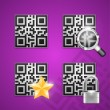 Stock Vector: Qr code icons