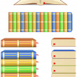 Books — Stock Vector