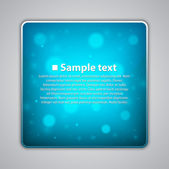 Blue speech bubble design — Vetorial Stock