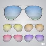 gafas — Vector de stock