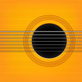 Vector guitar sound hole background. Horizontal variant. — Stock Vector