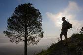 Escursioni in montagna — Foto Stock