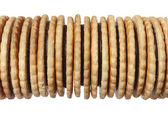 Heap of biscuit — Stock Photo