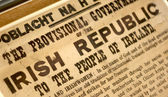 Constitution Statement of Ireland — Stock Photo