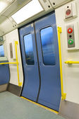 Closed Train Door — Foto de Stock