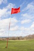 Golf flag — Stock Photo