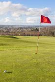 Groene golf — Stockfoto