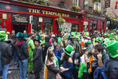 DUBLIN, IRELAND - MARCH 17: Saint Patrick's Day parade in Dublin — Stock Photo