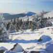"Stock Photo: Winter mountains. South Ural, backbone of ""Taganay"", Russia."