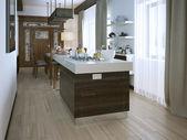 Cozinha em estilo moderno — Foto Stock