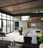 Modern interior living room — Stock Photo