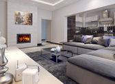 Sala de estar estilo contemporâneo — Foto Stock