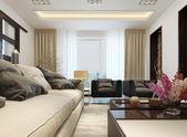 Living room modern style — Stock Photo